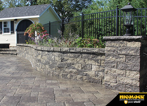 Walls And Stairs Cedar Mountain Stone And Mulch Wethersfield Ct